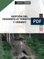 Gestion de Desarrollo Territorial Urbano
