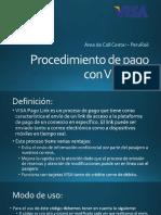 Procedimiento de Pago Link Visa Ppt
