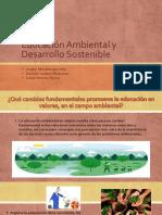 Educación Ambiental y Desarrollo Sostenible
