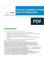 Ch 13 - Current liabilities