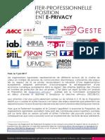 E-PRIVACY-PositionCommune-070617.pdf