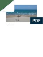 Playa de Cullera en 2017