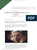 10 Filmes Sobre Alzheimer