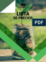 ListadePrecios Perú
