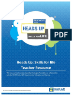 heads up skills for life teacher resource