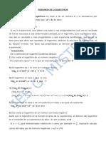 Resumen de Logaritmos 1