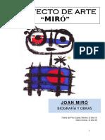 Proyecto Arte. MIRÓ