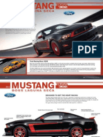 2012 Ford Mustang Boss 302 Laguna Seca Fact Sheet