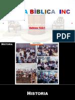 Historia Iglesia Bìblica II.pptx