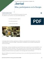 Estando de rodillas, participamos en la liturgia (II) - ReL.pdf