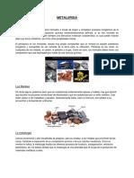 HISTORIA Metalurgia