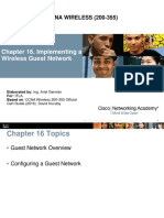 16-Implementing a Wireless Guest Network
