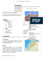 Cabo de Tres Forcas