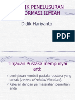 Materi Workshop Penulisan Karya Ilimiah Sesi 1 (3 Oktober 2015)