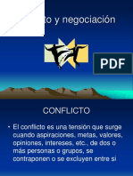3 Conflicto y Negociacion