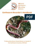 Earthworm Recorder's Handbook