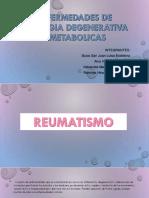 Enfermedades de Etiologia Degenerativa y Metabolicas