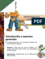 1.1 Administración de La Producción y Calidad