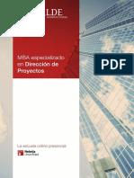 Dossier MBA DP