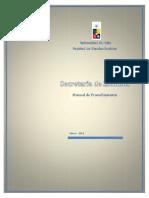 Manual de Procedimientos de La Secretaria de Estudios 2011 PDF