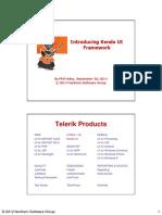Intro Kendo UI Framework