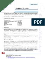 Fosfato Tricalcico