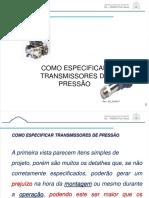 Como Especificar Transmissor de Pressão_010917