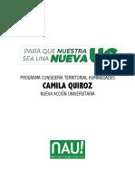 Humanidades - Camila Quiroz