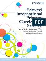 International Primary Curriculum SAM Science Booklet 2012