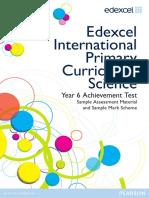 International Primary Curriculum SAM Science Booklet 2012
