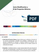 7 - Factores Modificantes y VU - J. Galaz MYMA