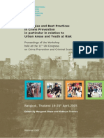 Strategies and Best Practices in Crime Prevention Urban Areas and Youth at Risk ANG