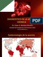01.- Diagnostico de La Anemia Cronica