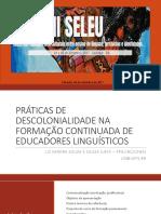 Apresentação Seleu. Uneb.2017