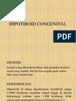 Hipotiroid Congenital