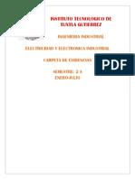 Electricidad y Electronica Industrial.