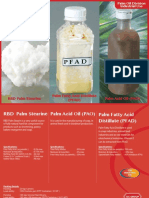 Palm Acid Oil (PAO) Palm Fatty Acid Distillate (PFAD) RBD Palm