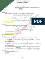 exercices +corriges nombres complexes d&_x27;alge smpc s1