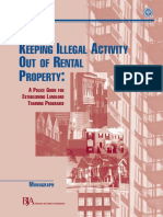 Keeping Illegal Activity Out of Rental Property