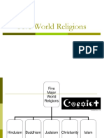 5 Major World Religions Modified