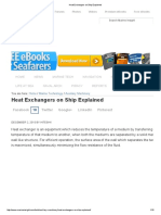 Heat Exchangers on Ship Explained