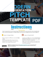 FGST0013 Modern Presentation Pitch Template