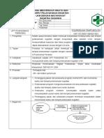 4.2.4 Ep 1 SOP Penyusunan jadwal dan tempat pelaksanaan kegiatan.doc