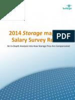 2014 Storage Magazine Salary Survey Results