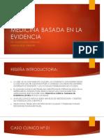 CLASE N° 12 - MEDICINA BASADA EN LA EVIDENCIA