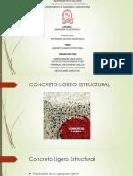 13 Concreto Ligero Estructural