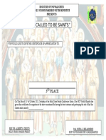 Certificate for Ctbs3