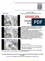 Information Sought 7-Eleven Homicide