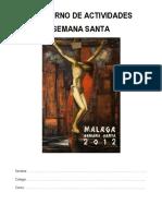 Cuaderno de  Semana Santa 2012
