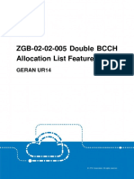 GERAN Double BCCH Allocation List Feature Guide